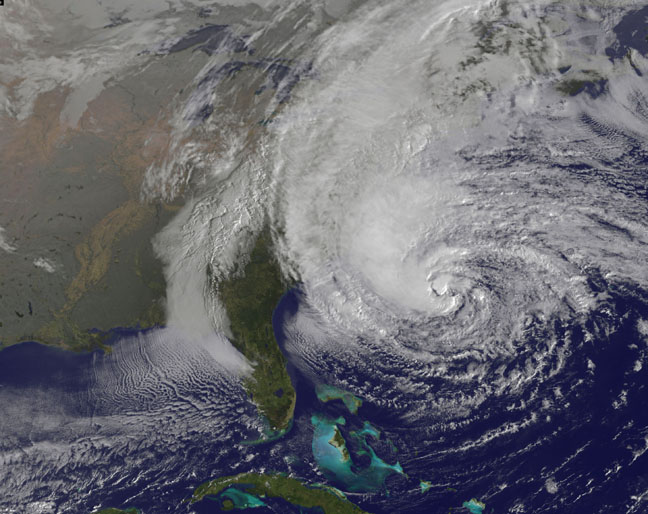 Sandy Could Materially Impact Election