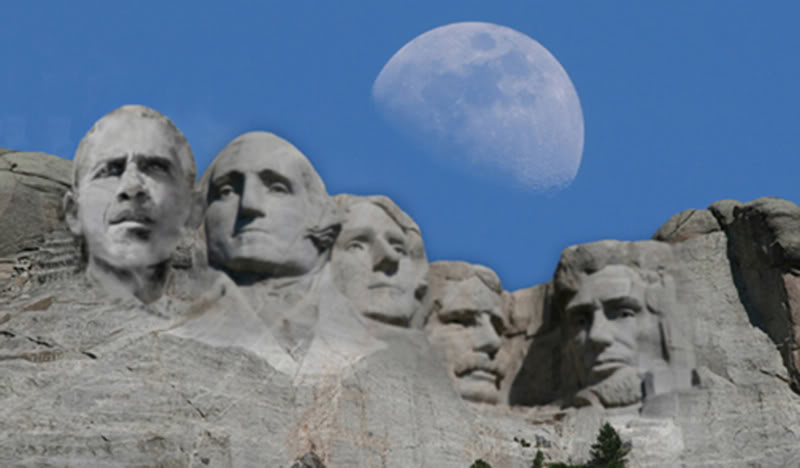 Obama To Be Added To Mt. Rushmore – Park Service Confirms