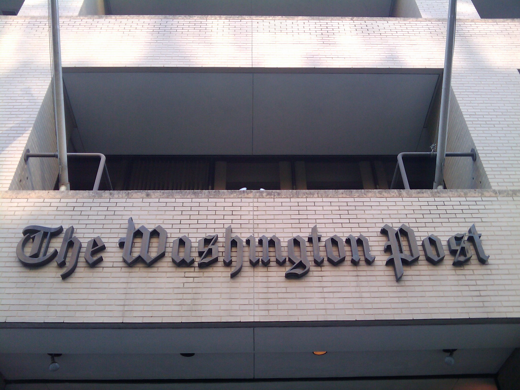 Why Do We Tolerate The Racism Of The Washington Post?